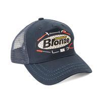 Bronze 56k Tool Time Trucker Hat - Navy