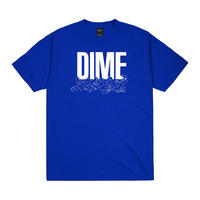 Dime Support T-Shirt Cobalt