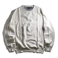 Polo Ralph Lauren Pima Cotton Knitted Long Sleeve - Antique Cream