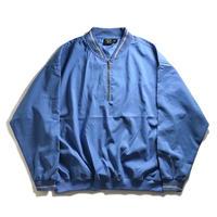 AKWA 1/4 Zip Henley Wind Shirt - Blue