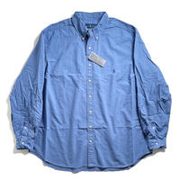 Ralph Lauren Big Size Garment Dye Oxford Sport Shirt - Bastille Blue (2XB,3XB)