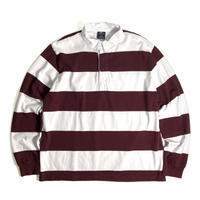 Charles River Apparel Classic Rugby Shirts - Maroon/White