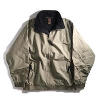 Harriton Fleece Lining Nylon Jacket - Khaki