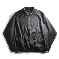 AKWA 1/4 Zip Henley Wind Shirt - Black