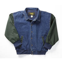 COBRACAPS Ranger Jacket - Denim/Green