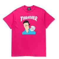 THRASHER  GONZ COVER TEE - PINK
