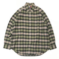 USED 90's TOMMY HILFIGER Oxford Check B.D Shirts