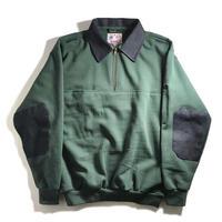 GAME Sportswear Defender Work Sweatshirt - Green/Denim