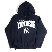 MLB Official New York Yankees Pullover Sweat Hoody - Navy
