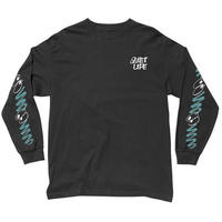 THE QUIET LIFE JARVIS LONG SLEEVE T-BLACK