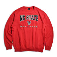Colosseum NC State Wolfpack Crewneck Sweat - Red