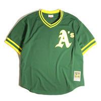 Mitchel & Ness Authentic BP Pullover Jersey - Oakland Athletics Reggie Jackson