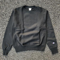CHAMPION REVERSE WEAVE CREW NECK - BLACK