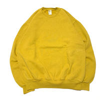 LOSANGELES APPAREL 14oz Garment Dye Crewneck-DIJON