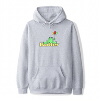 Butter Goods Frog Pullover - Heather Grey