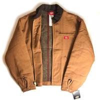 Dickies 10oz Duck Blanlet Lined Jacket - Brown