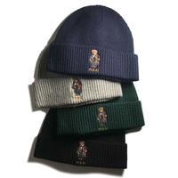 Polo Ralph Lauren Solid Toggle Bear Cuff Hat