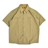 Red Kap Industrial Work Shirt - Khaki