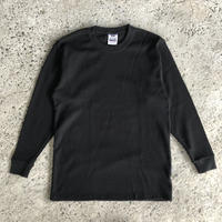 PRO CLUB THERMAL LONGSLEEVE TEE - BLACK