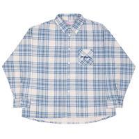 Yardsale Ys Plaid Shirt - Blue/White