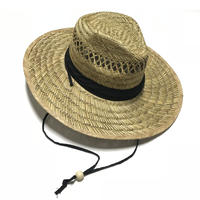 WIDE BRRIMED BAMBOO HAT