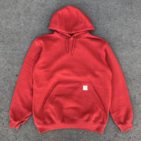 CARHARTT K121 MIDWEIGHT PULLOVER HOODED - RED