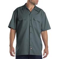 DICKIES Short Sleeve Work Shirt - Lincoln Green