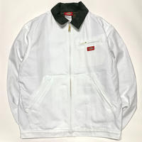 DICKIES FLANNEL LINED JACKET - WHITE