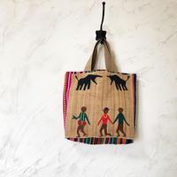 313|中南米の織物&ミャンマー・ナガ族の手刺繍 (B)