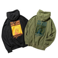 YES I SAW HIM HERE PULLOVER PARKA(RUTSUBO×ALLRAID)