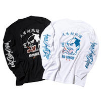 BIG TONGUE AIR LS T-SHIRTS (RUTSUBO×YUSUDA)