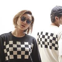 Checker Sweater (RUTSUBO×I&ME)