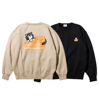 HENDRIK CREW SWEAT (RUTSUBO×FACE×DFW)