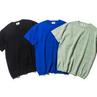 WAFFLE S/S COTTON SWEATER