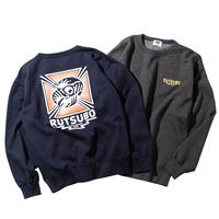 HAWK CREW SWEAT(RUTSUBO×ALLRAID)