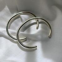 vintage Mexico silver  line bangle