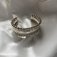 vintage Mexico silver bangle 7