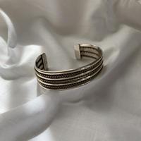 vintage Mexico silver design bangle 3