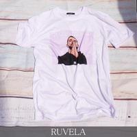 RUVELA ORIGINAL Back Off プリントTシャツ 半袖 ユニセックス