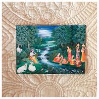 クリシュナゴーピーポストカード