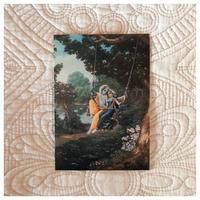 ラーダークリシュナのジュランヤトラポストカード