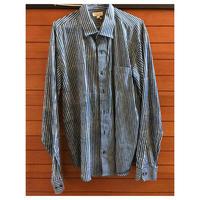 【アソシエイツ】男性用ストライプシャツ
