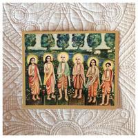 6人のゴースワーミーアートカード