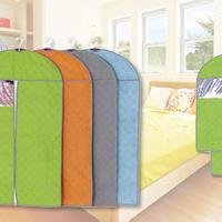 防臭・防虫効果のある竹炭衣類カバー