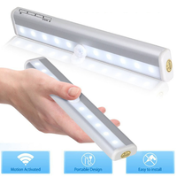 人感式センサー付き10灯LEDバーライト