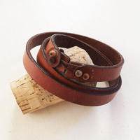 Leather Bracelet/ Long