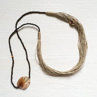 Linen Cord Necklace