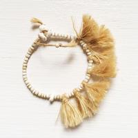 Linen Fringe Bracelet