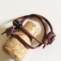 Leather Bracelet/ Wind-2