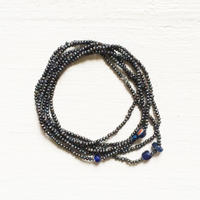 Navy Pearl Necklace